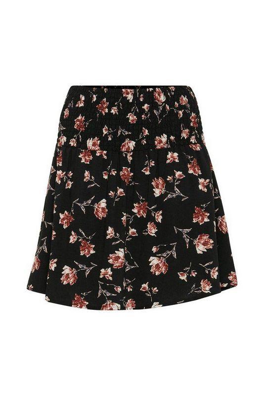 spódniczka mini w kwiaty