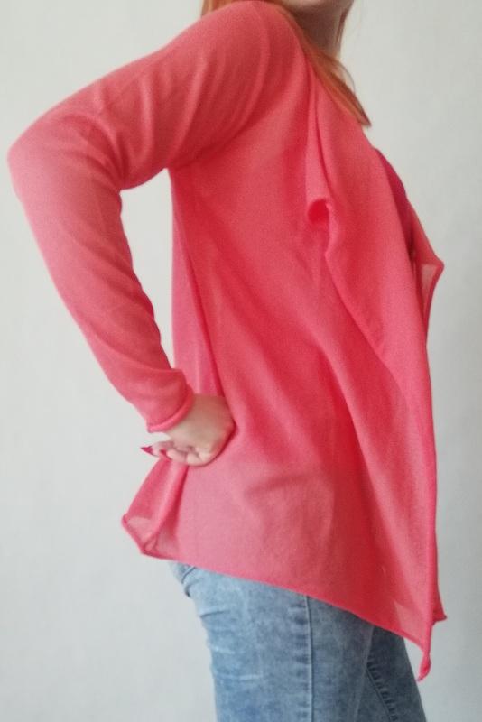 różowy kardigan soyaconcept