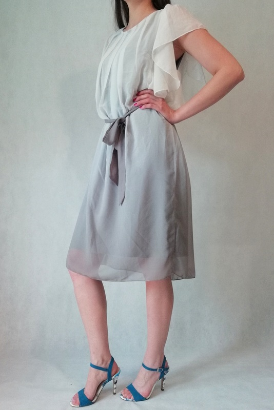 sukienka kassandra dress cream